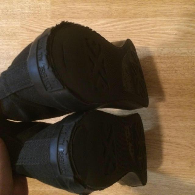 CONVERSE(コンバース)のハイカット 黒 レディースの靴/シューズ(スニーカー)の商品写真