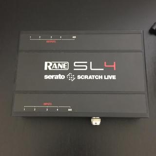 スクラッチライブ SL4  serato SCRATCH LIVE 4 RANE(DJコントローラー)
