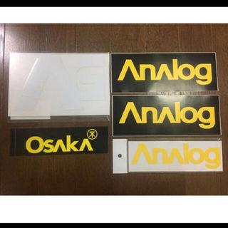 アナログクロージング(Analog Clothing)のanalog ステッカー セット #2(その他)