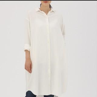 ムジルシリョウヒン(MUJI (無印良品))の無印良品 コットンロングシャツ 2色セット(シャツ/ブラウス(長袖/七分))