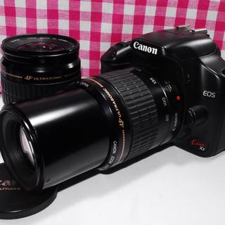 キヤノン(Canon)の❤ドキドキ・ワクワクの予感❤ Canon Kiss x2 大迫力のダブルズーム♪(デジタル一眼)
