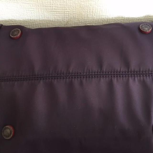 MZ WALLACE(エムジーウォレス)のMZウォレス★トートバッグ /ミニポーチ付き/ダークパープル レディースのバッグ(トートバッグ)の商品写真