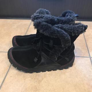 コロンビア(Columbia)のカルソーアース ブーツ ブラック 24(ブーツ)