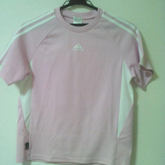 adidas(アディダス)のadidas半袖Tシャツ(150) レディースのトップス(Tシャツ(長袖/七分))の商品写真