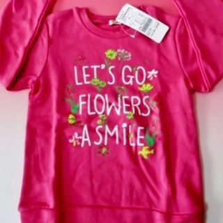 アコバ(Acoba)の【ACOBA/アコバ】トレーナー/ピンク/丸高衣料 *130* 2017福袋(Tシャツ/カットソー)