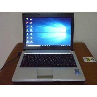 エヌイーシー(NEC)の高性能第2世代i7搭載 win10 メモリ4G HDD250G NEC(ノートPC)