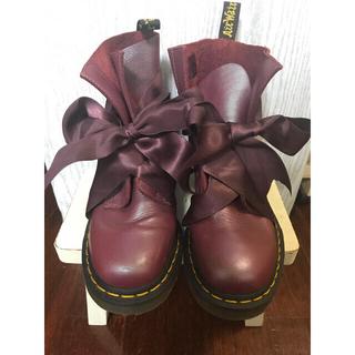 ドクターマーチン(Dr.Martens)のDr.Martens サテンリボン(ローファー/革靴)