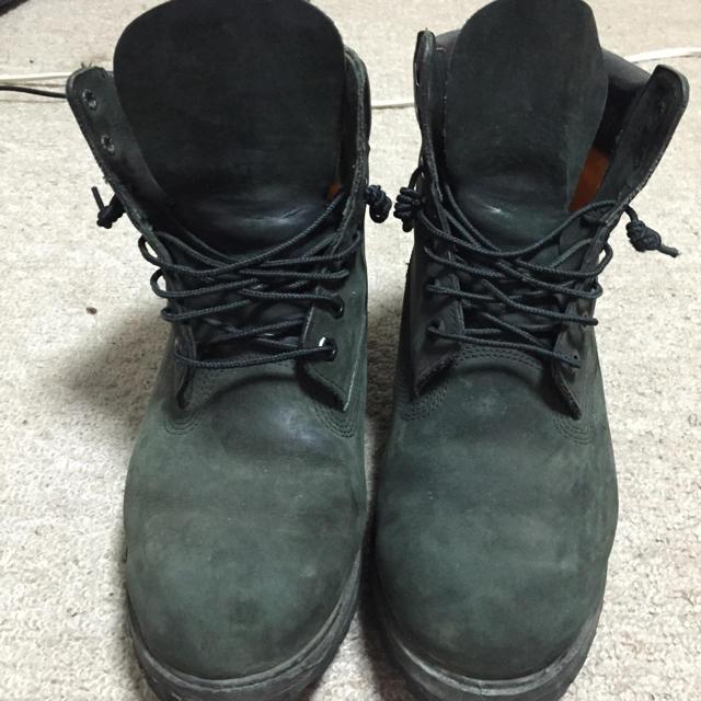 Timberland(ティンバーランド)の黒ティンバ メンズの靴/シューズ(スニーカー)の商品写真