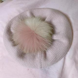 ミュウミュウ(miumiu)のmiumiu ベレー帽(ハンチング/ベレー帽)