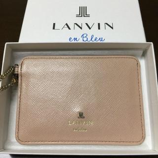 ランバンオンブルー(LANVIN en Bleu)のさとみるく様専用 パスケース(名刺入れ/定期入れ)