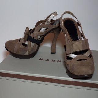 マルニ(Marni)のMARNI -マルニ- リボンバンドパンプス 23cm(ハイヒール/パンプス)