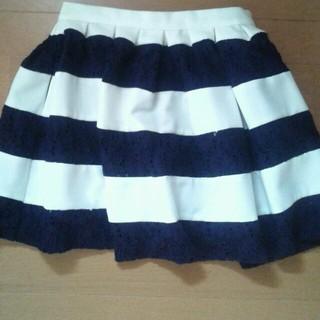 マーキュリーデュオ(MERCURYDUO)のマーキュリーのボーダースカート♪(ミニスカート)