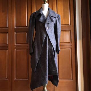 ヴィヴィアンウエストウッド(Vivienne Westwood)のヴィヴィアンウエストウッド コート アシンメトリー(ロングコート)