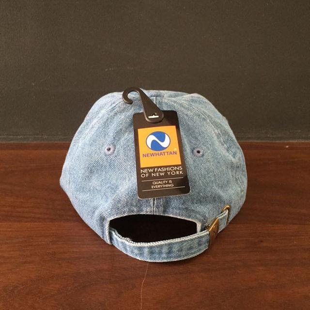 ニューハッタン6パネルキャップ  デニム ライトブルー レディースの帽子(その他)の商品写真