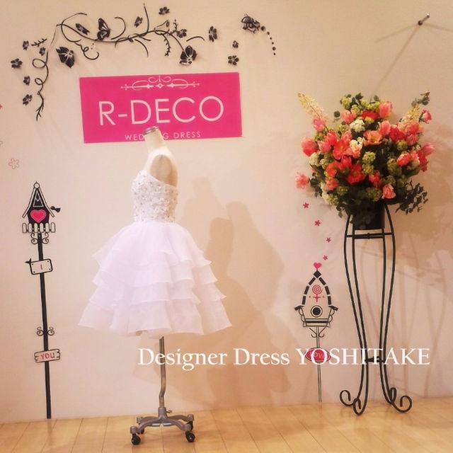 ウエディングドレス 二次会用ショートドレス レディースのフォーマル/ドレス(その他ドレス)の商品写真
