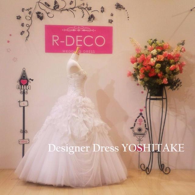 ウエディングドレス プリセンス ビーズ/スカートふわふわ レディースのフォーマル/ドレス(その他ドレス)の商品写真