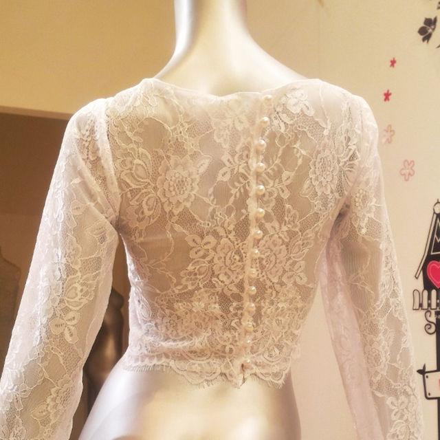 オーダーボレロ【完全フルオーダー】承ります 制作期間およそ一週間~10日 レディースのフォーマル/ドレス(その他ドレス)の商品写真