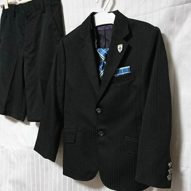 cfa462410822e HIROMICHI NAKANO(ヒロミチナカノ)のヒロミチナカノ キッズスーツ 120 黒 キッズ ベビー