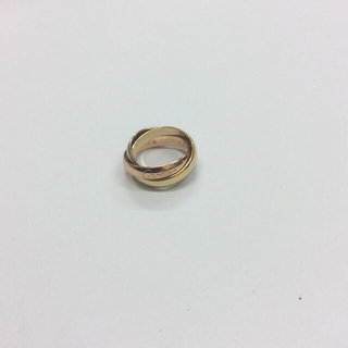 カルティエ(Cartier)の鉄道マニア様専用  カルティエ  トリニティリング  スリーカラー  4号  A(リング(指輪))