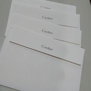 ■新品 カルティエ封筒 白封筒 4枚(その他)