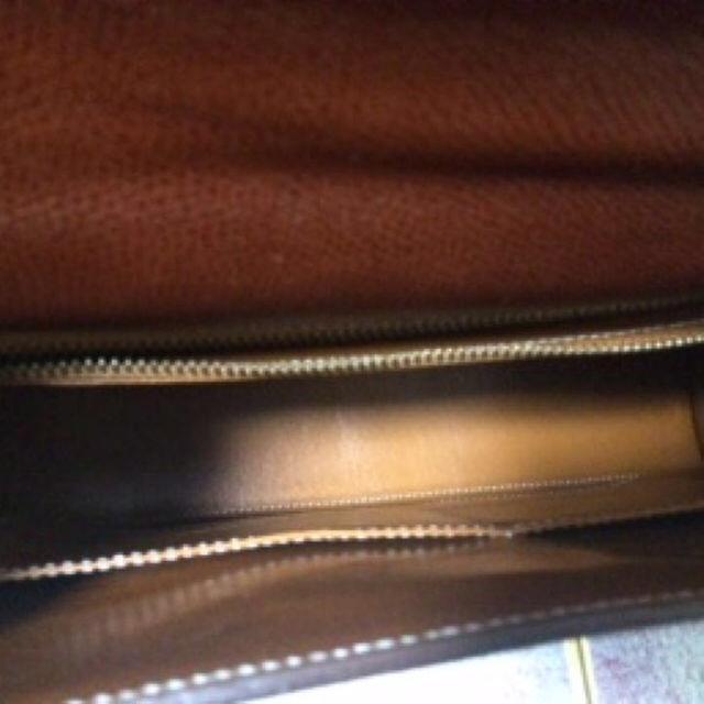 PIEROTUCCI ハンドバッグ 南京錠付き ブラウン レザー イタリア製 レディースのバッグ(ハンドバッグ)の商品写真