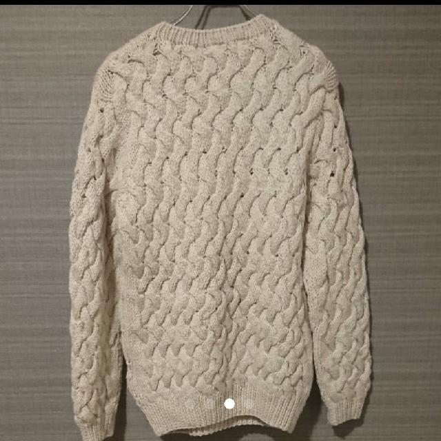THE TWELVE 白セーター メンズのトップス(ニット/セーター)の商品写真