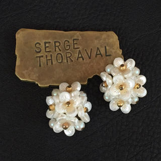 Sincere Vintage Brooch Pin Cream Pearl Gold Tone Bridal Bouquet Fashion Jewelry W19 Jewelry & Watches Fashion Jewelry