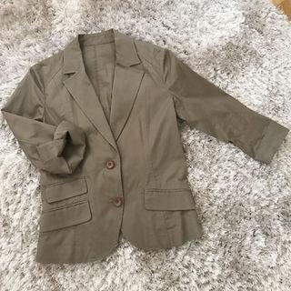 アルファキュービック(ALPHA CUBIC)のALPHA CUBIC 七分袖ジャケット(テーラードジャケット)
