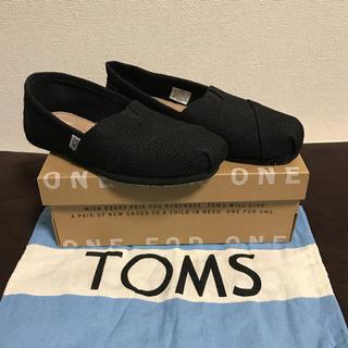 トムズ(TOMS)のTOMS 新品 正規品 22cm US5 クラッシック スタイル ブラック 黒 (スニーカー)