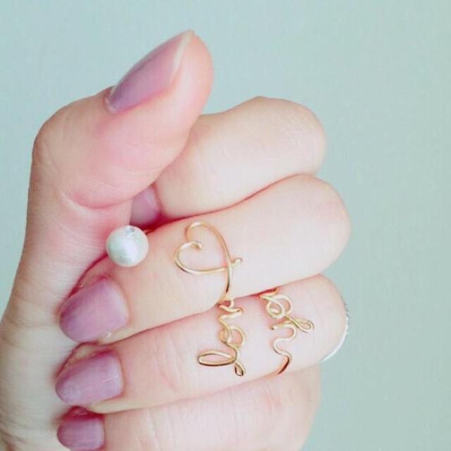 suzuさま専用 レディースのアクセサリー(リング(指輪))の商品写真