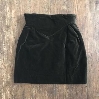 ヴィヴィアンウエストウッド(Vivienne Westwood)のVivienne Westwood ベロアミニスカート(ミニスカート)