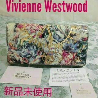 ヴィヴィアンウエストウッド(Vivienne Westwood)の新品未使用タグ付 ヴィヴィアン ウエストウッド 革製 長財布(財布)