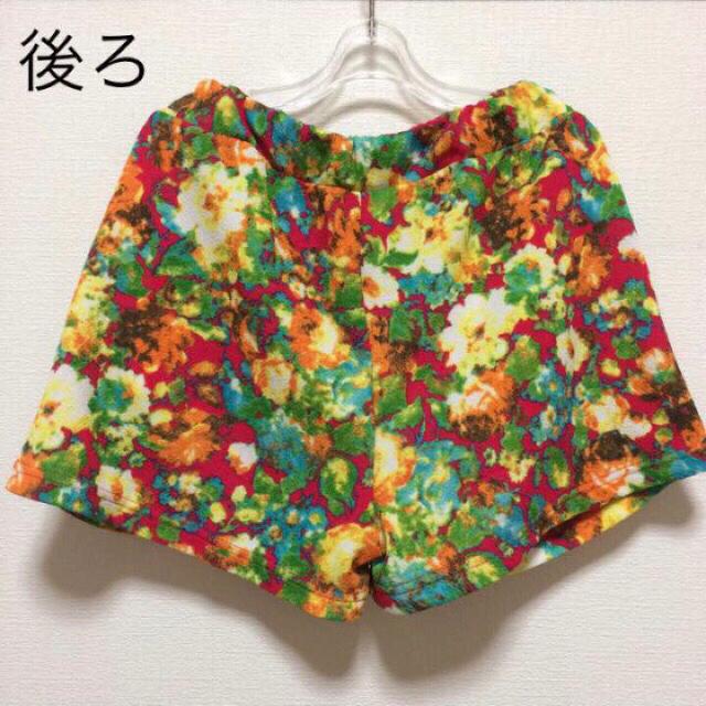 ◼︎◼︎ 美品! 花柄 ショートパンツ ◼︎◼︎ レディースのパンツ(ショートパンツ)の商品写真