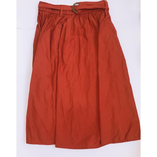 Rope' Picnic(ロペピクニック)のロペピクニック テラコッタ スカート レディースのスカート(ひざ丈スカート)の商品写真