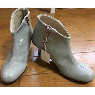 新品レインシューズ 21.5cm New bell(レインブーツ/長靴)