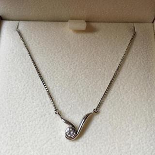 ニワカ(俄)の俄 NIWAKA ダイヤ ネックレス 美品(ネックレス)