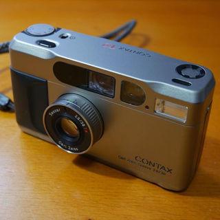 キョウセラ(京セラ)の【美品】CONTAX T2  コンタックス T2(フィルムカメラ)