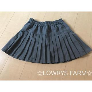 ローリーズファーム(LOWRYS FARM)の☆ローリーズファーム☆美品♪プリーツミニスカート size:FREE(ミニスカート)