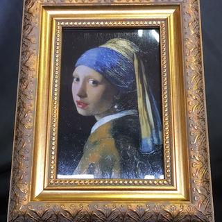 世界の名画【「真珠の耳飾りの少女」:ヨハネス・フェルメール】(絵画/タペストリー)