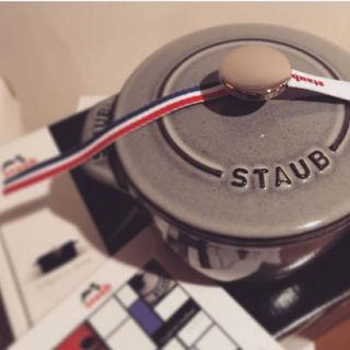 ストウブ(STAUB)の【ピンクさま専用】STAUB ラ・ココット de GOHAN Sサイズ(調理道具/製菓道具)