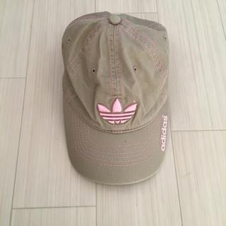 アディダス(adidas)のadidas ロゴ刺繍CAP(キャップ)