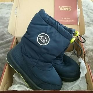ヴァンズ(VANS)のVANS スノーブーツ キッズ 19(長靴/レインシューズ)