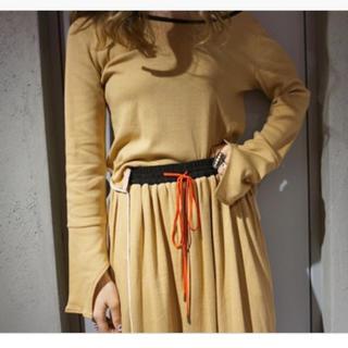 バーニーズニューヨーク(BARNEYS NEW YORK)のakane utsunomiya ✴︎ アカネウツノミヤ スカート(ひざ丈スカート)
