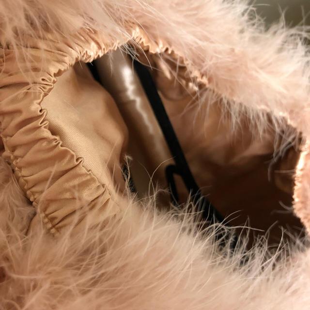 Nina mew(ニーナミュウ)のニーナミュウ フェザースカート レディースのスカート(ミニスカート)の商品写真