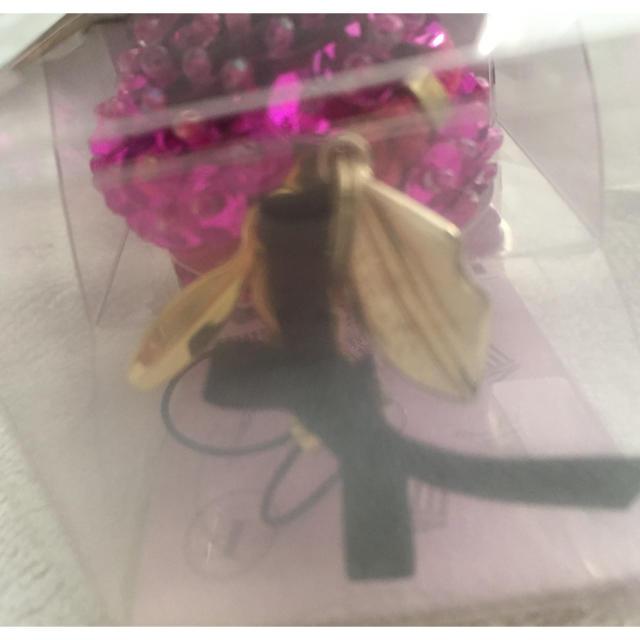 オシャレキーホルダー マカロン キラキラ ハンドメイドのアクセサリー(キーホルダー/ストラップ)の商品写真