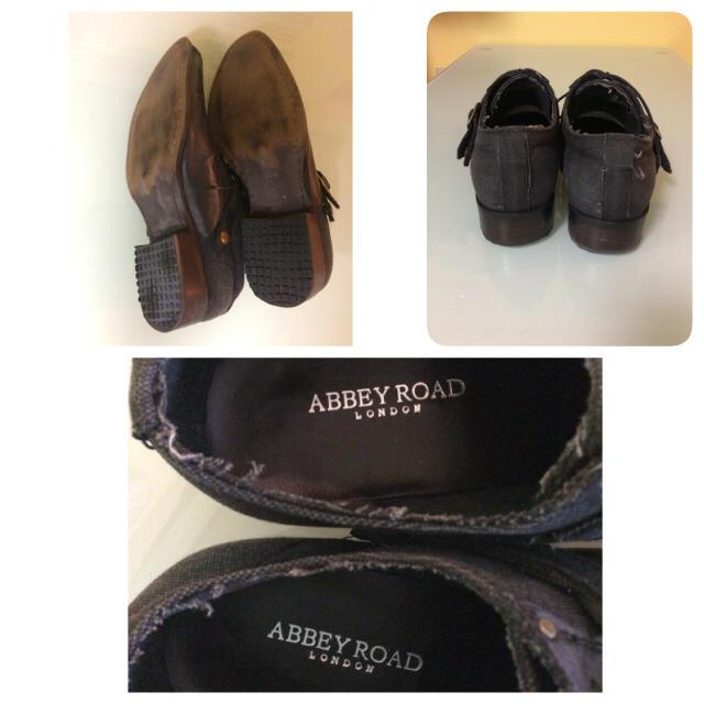 URBAN RESEARCH(アーバンリサーチ)のメンズ カジュアル ビジネス ネイビー 紺色 美品 黒 ブラック の服に似合う! メンズの靴/シューズ(ドレス/ビジネス)の商品写真