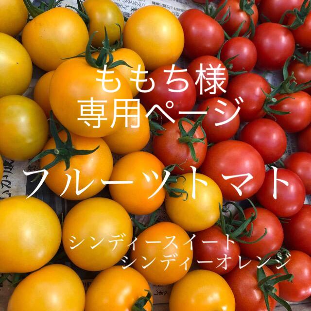 中玉トマト 赤&黄色 2キロ 食品/飲料/酒の食品(野菜)の商品写真