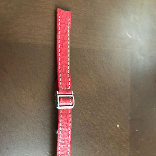 エベル(EBEL)の新品未使用 エベル レディース革ベルト 13ミリ レッド(腕時計)