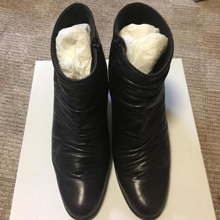 オデットエオディール(Odette e Odile)のショートブーツ 7.5センチヒール 神戸で購入(ブーツ)