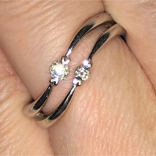 ヨンドシー(4℃)のダイヤモンド 0.15カラット 4℃  リング(リング(指輪))